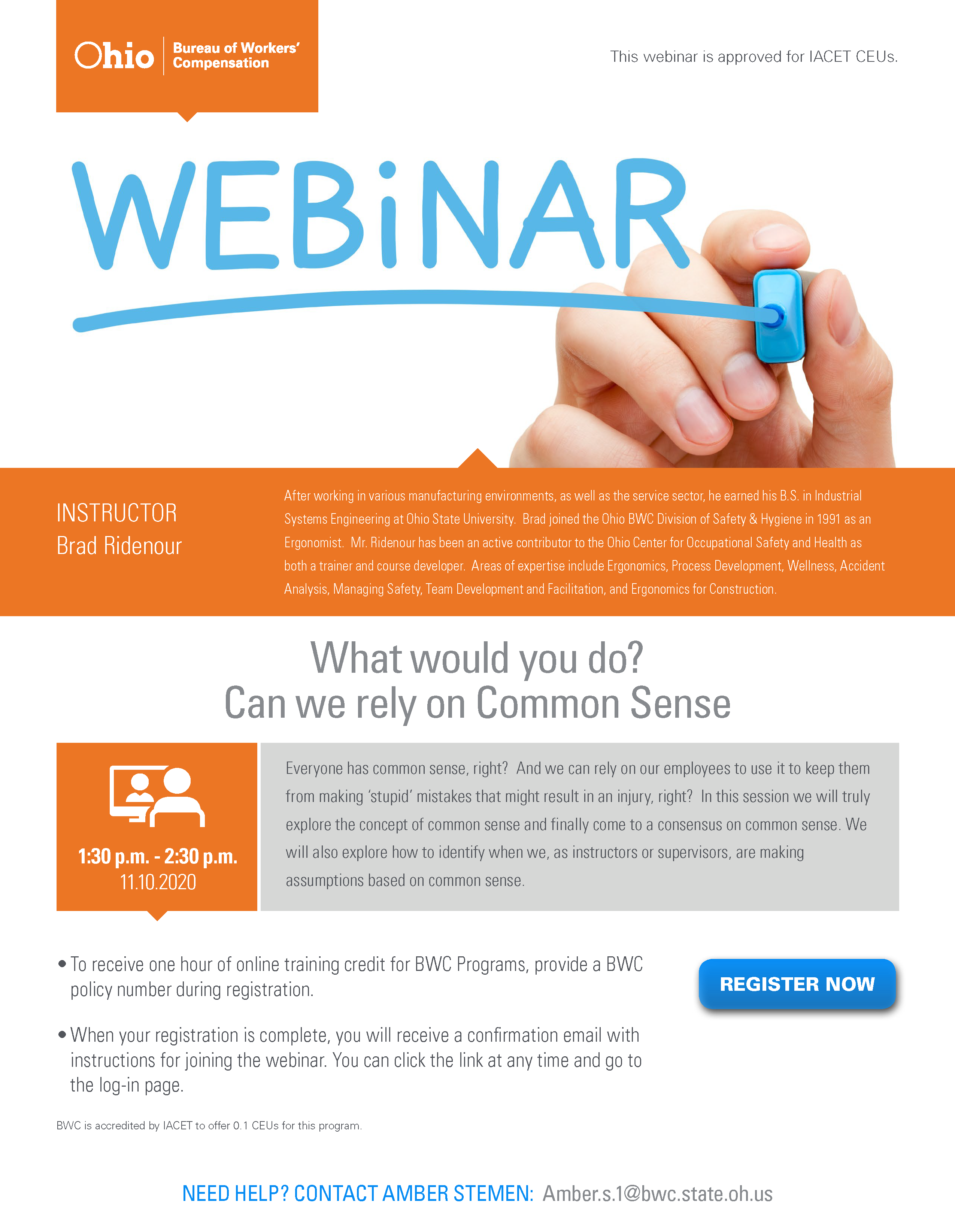 What would you do Webinar 2020 1