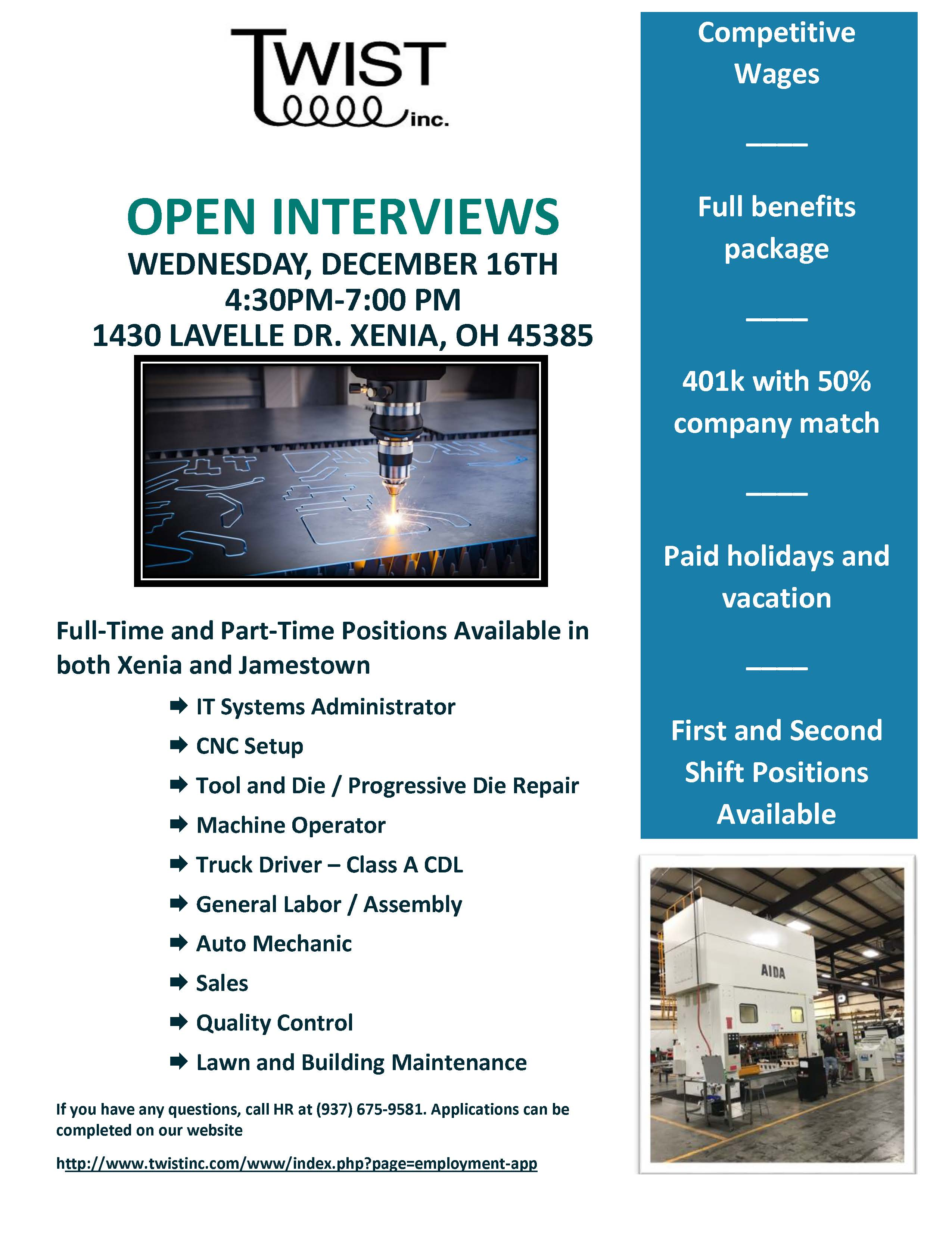 Twisy Open Interview Flyer 12 16 20 Page 1
